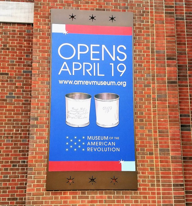 Museum of the American Revolution Opening April 19