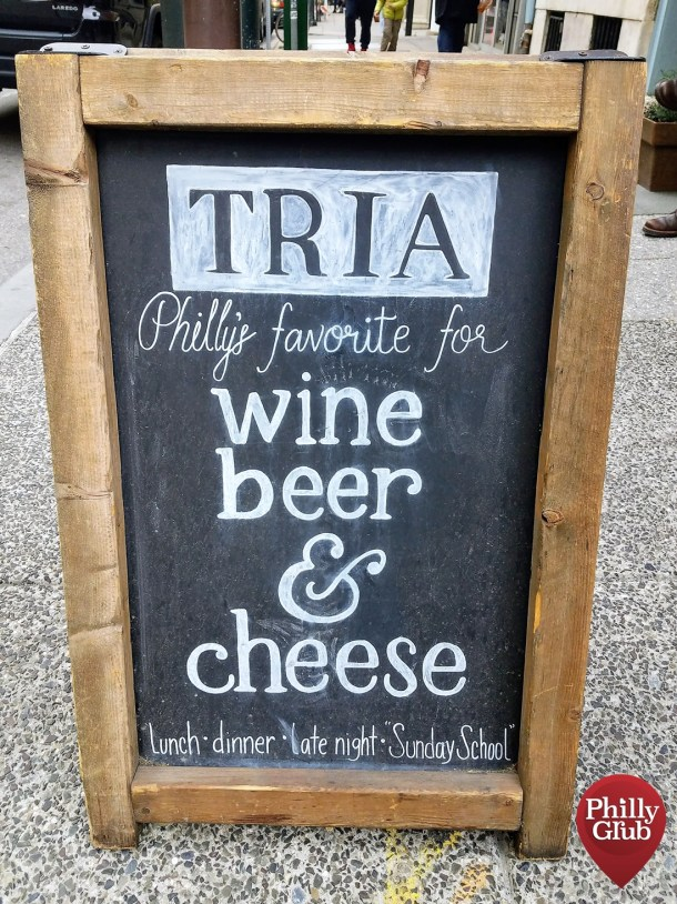 Tria Cafe Rittenhouse Wine Beer Cheese