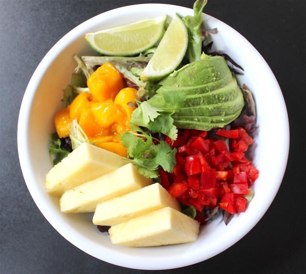 Tropical Salad at FUEL Philadelphia