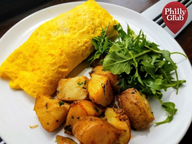 Cheese Steak Omelette Moshulu Brunch
