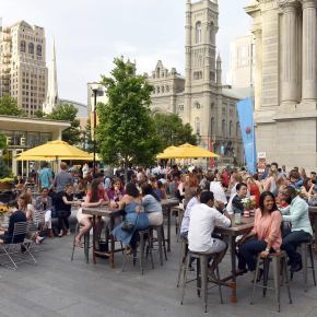 BBQ Sauce Competition at Dilworth Park's All American BBQ