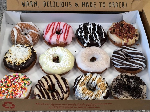 Duck Donuts Hot