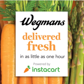 Wegmans and Instacart Expand Same-Day Grocery Delivery to Pennsylvania and South Jersey