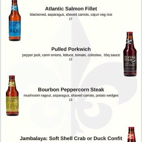 Flying Fish Tap Takeover at Catahoula