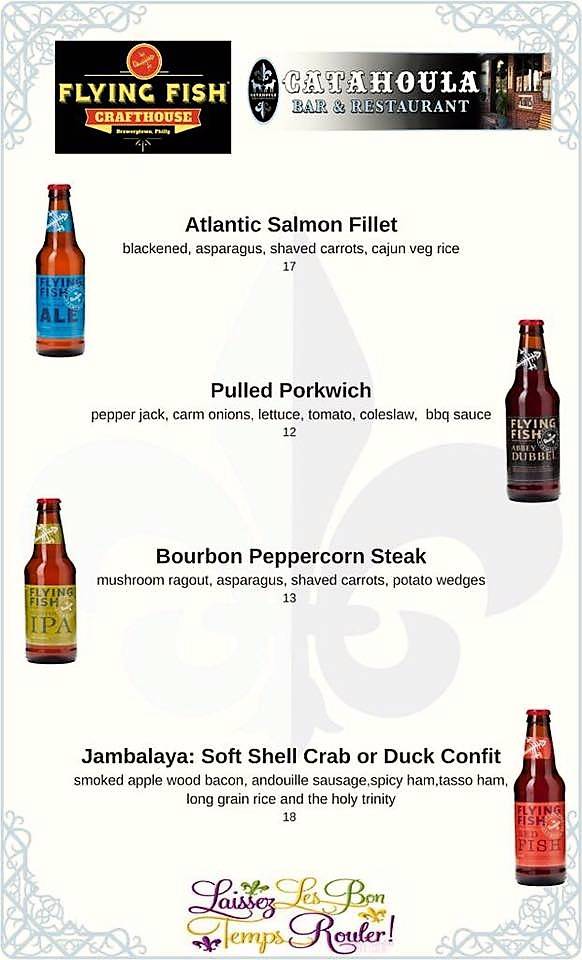 Flying Fish Catahoula Tap Takeover