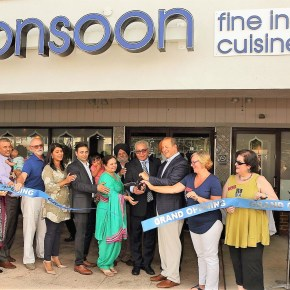 Monsoon Fine Indian Cuisine Grand Opening in Cherry Hill