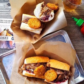 Turducken Sandwich Returns to Jake's Sandwich Board