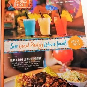 Rumtoberfest at Bahama Breeze