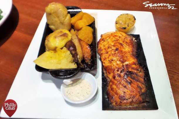 Seasons 52 Cherry Hill Mall Cedar Plank Salmon