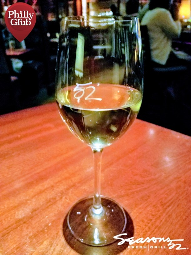 Seasons 52 Cherry Hill Mall Selbach QBA Riesling