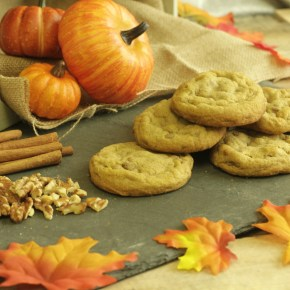 Grubspotting: Spiced Pumpkin Nut Cookies at Insomnia Cookies