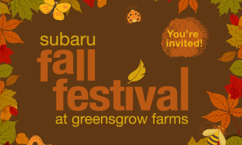 Subaru Fall Festival Greensgrow Farms