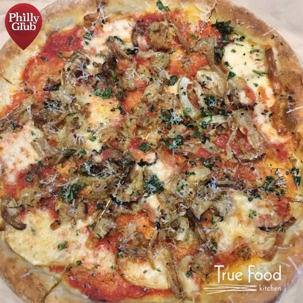 True Food Kitchen King of Prussia Fennel Chicken Sausage Pizza