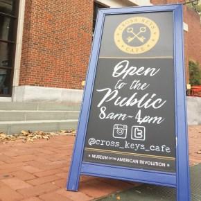 Old City's Cross Keys Café Announces New Colonial Era-Inspired Fall Menu