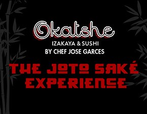 Joto Sake & Sushi at Chef Jose Garces' Okatshe