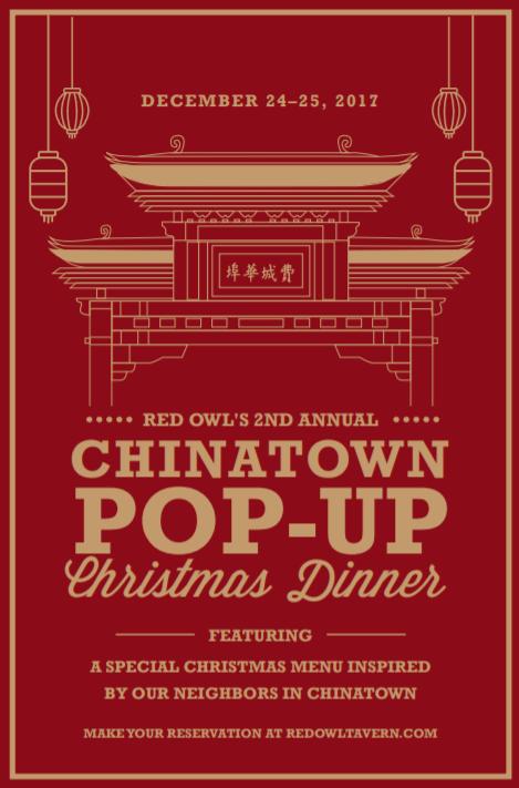 Red Own Tavern Chinatown Pop Up