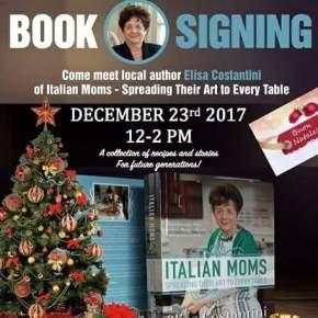 Cookbook Author Elisa Costantini at Fante's Kitchen Shop