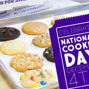 Free Cookie at Insomnia Cookies for National Cookie Day