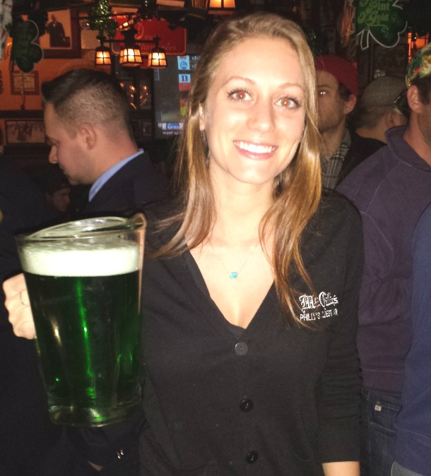 McGillins Green Beer