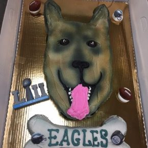 Fly Eagles Fly: Underdog Pull Apart Cake at South Jersey ShopRite Stores