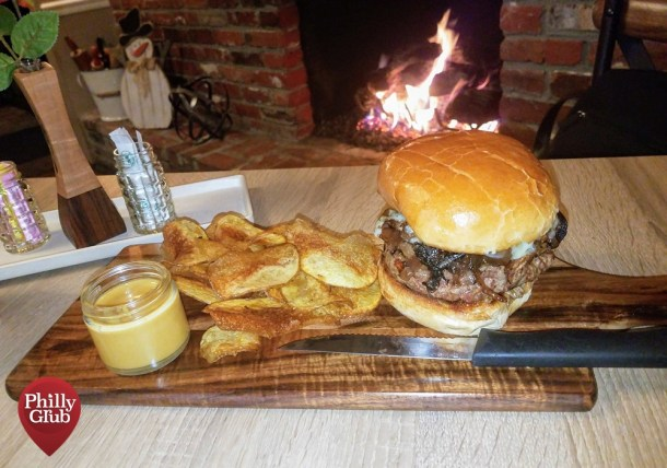 Farmhouse Cherry Hill Truffle Burger