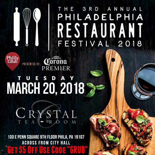 2018 Philadelphia Restaurant Festival