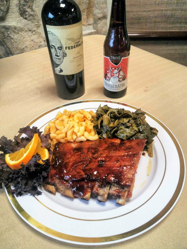 Sticky Ribs at The Fresh Grocer on Monument Road
