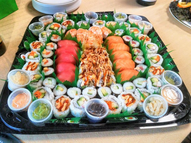 Sushi Platter at The Fresh Grocer on Monument Road