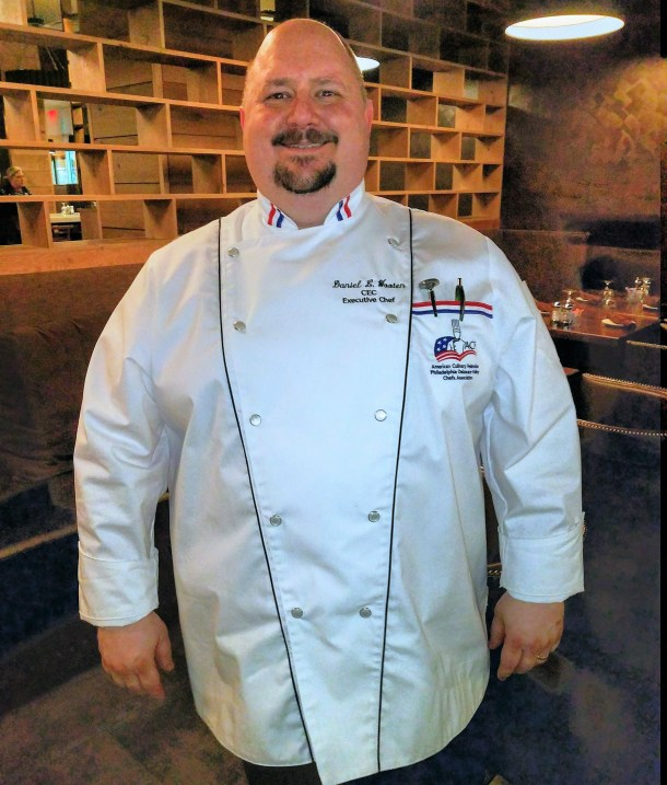 Cheers American Bistro Certified Executive Chef Daniel L Wooten