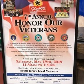 South Jersey ShopRite Supermarkets Honor Veterans