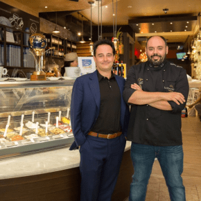 Celebrate National Gelato Day at Gran Caffe L'Aquila