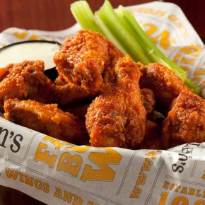 All You Can Eat Chicken Wings on National Chicken Wing Day at P.J. Whelihan's