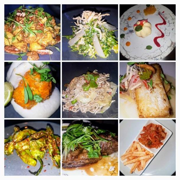 Ardiente Old City Food Collage