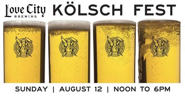 Love City Brewing Philadelphia Kolsch Fest