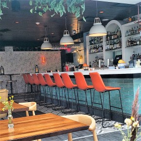 Attico Rooftop Kitchen + Lounge Open for Dining & Drinking