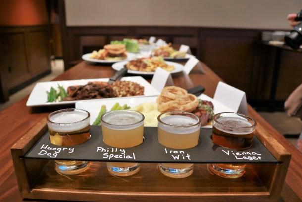 Iron Hill Brewery & Restaurant Center City Sampler