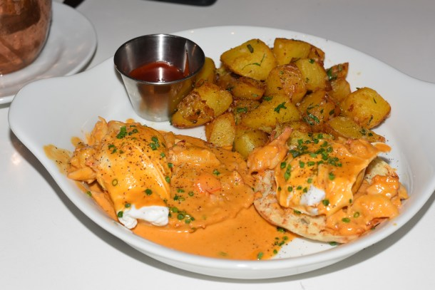 Louie Louie University City Seafood Benedict
