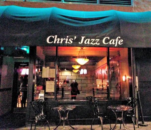 Chris' Jazz Cafe 1421 Sansom Street Philadelphia PA