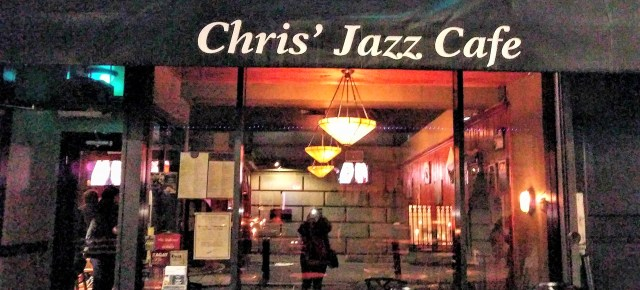 Chris' Jazz Cafe 1421 Sansom Street Philadelphia PA