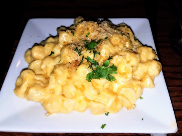 Macaroni and Cheese Side at Chris' Jazz Cafe in Philadelphia