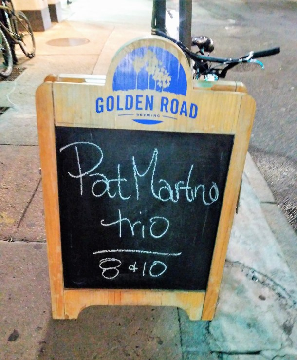 Pat Martino Trio at Chris' Jazz Cafe Philadelphia