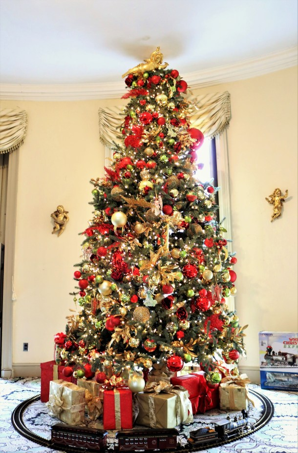 Christmas Tree at Lemon Hill Mansion