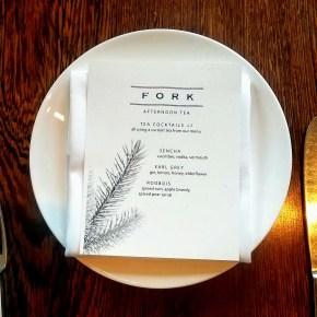Afternoon Tea at Fork Restaurant
