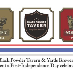 Celebrate Independence Day with Yards Brewery at Black Powder Tavern