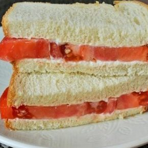 It's Tomato Sandwich Season
