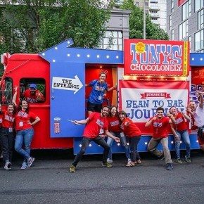 Tony's Chocolonely Brings Experiential Chocotruck to Philadelphia