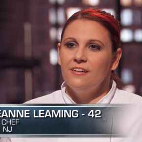 Chef Georgeann Leaming Featured on Man vs. Master Cooking Competition