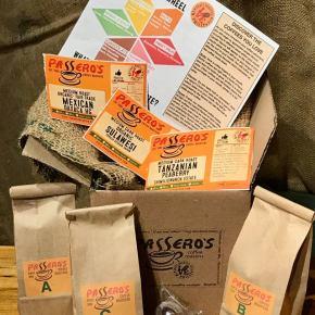 Passero's Coffee Roasters Introduces The Coffee Tasting Adventure Box