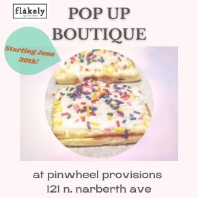Flakely Gluten-Free Bakery Pop-Up at Pinwheel Provisions in Narberth