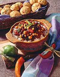 Southwest Style 3 Bean Chili
